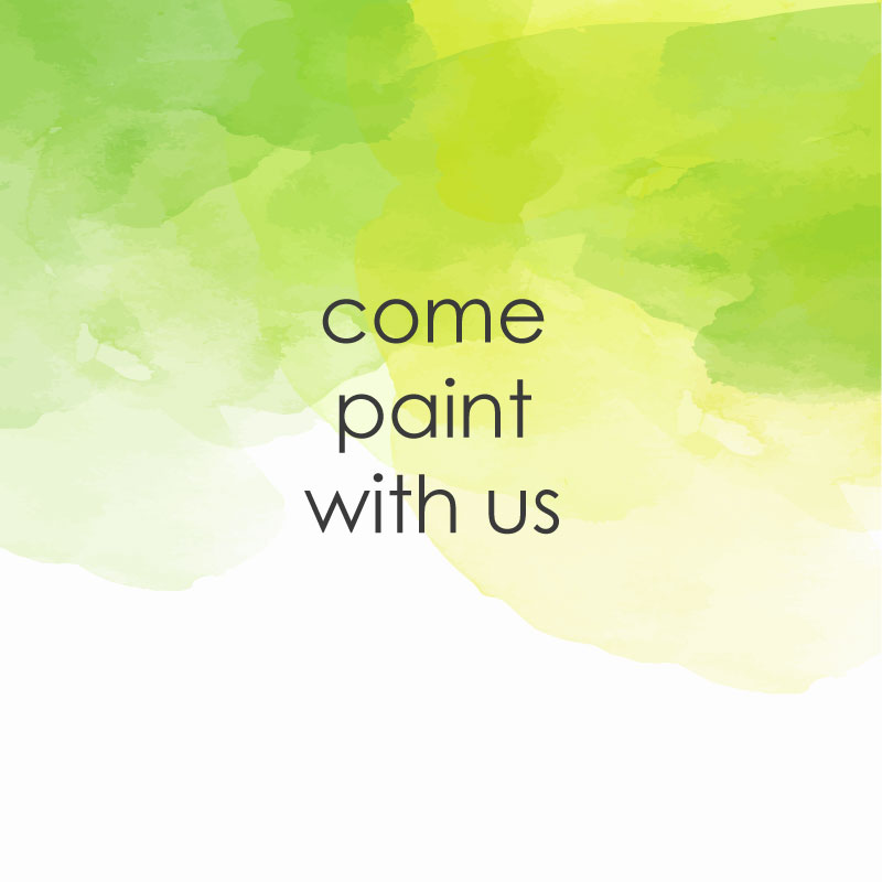 come paint with us for casual painting